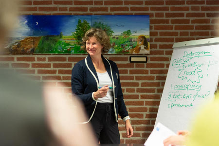 Trainingen over straling en elektrostress